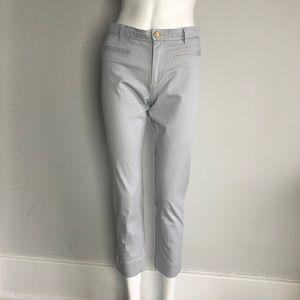 Isabel Marant Lt Blue Crop Pencil Chinos pants sz4